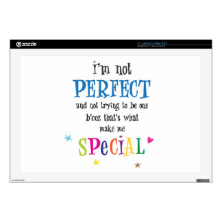 """Perfect 17"""" Laptop Decal"""