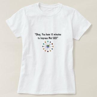 """""""PERFECT 1ST INTERNET DATE MEETING T-SHIRT"""" T-Shirt"""