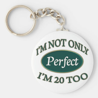 Perfect 20 Year Old Keychain