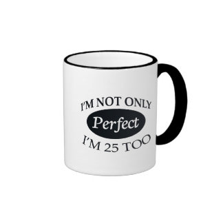 Perfect 25 ringer mug