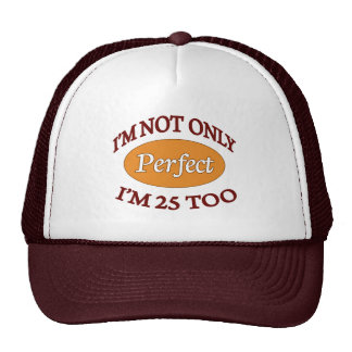 Perfect 25 Year Old Mesh Hats
