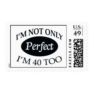 Perfect 40 postage