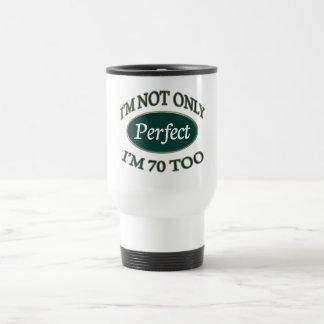 Perfect 70 Year Old Travel Mug