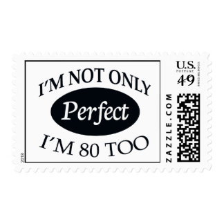 Perfect 80 postage