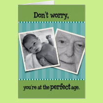 Perfect Age Funny Birthday Card