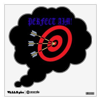 Perfect Aim 2 Wall Decal