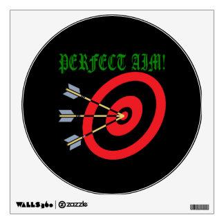 Perfect Aim 3 Wall Sticker