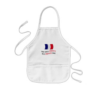 Perfect and French Kids' Apron