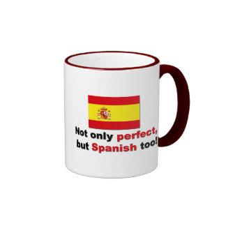 Perfect and Spanish Mugs