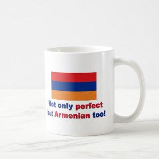 Perfect Armenian Classic White Coffee Mug