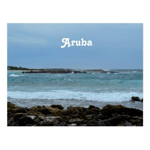 Perfect Aruba Post Card