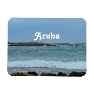 Perfect Aruba Rectangular Magnet