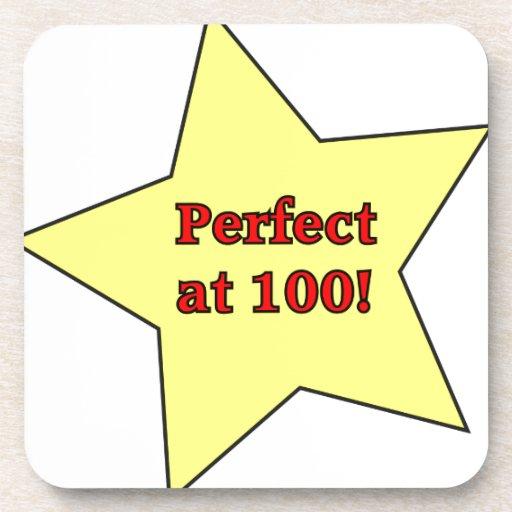 Perfect at 100! coaster