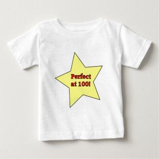 Perfect at 100! shirts