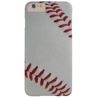 Perfect_autograph de Fan-tastic_pitch del béisbol Funda De iPhone 6 Plus Barely There