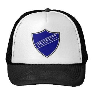 Perfect Badge Blue Trucker Hat