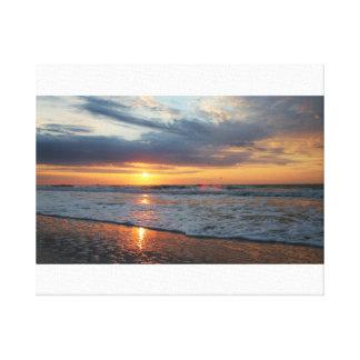 Perfect Beach Morning Canvas Print