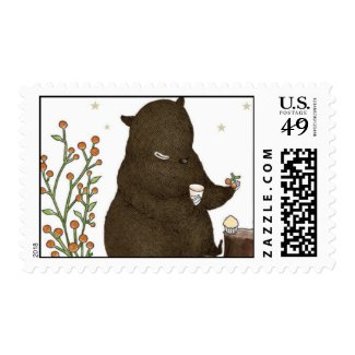 Perfect Berry, Bear Stamps