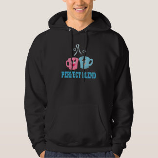 Perfect Blend Coffee Cups Hooded Sweatshirt