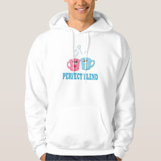 Perfect Blend Coffee Cups Sweatshirt