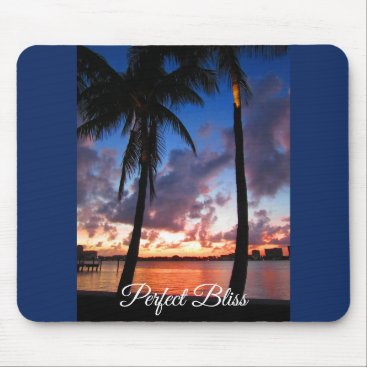 Beach Themed Perfect Bliss - Sunset in West Palm Beach Mouse Pad