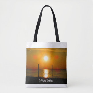 Perfect Bliss - Sunset on Lake Ontario Tote Bag