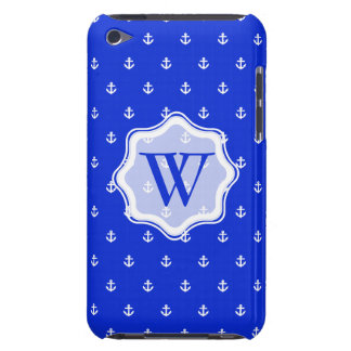 Perfect Blue anchor Barely There iPod Case