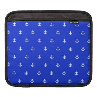 Perfect Blue anchor iPad Sleeve