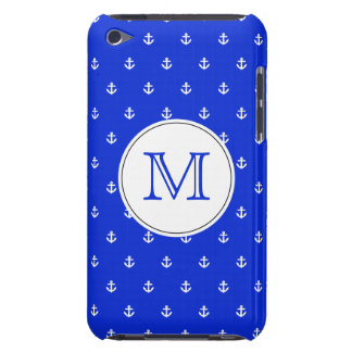 Perfect Blue anchor iPod Case-Mate Case