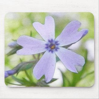 Perfect Blue Creeping Phlox Flower Mouse Pad