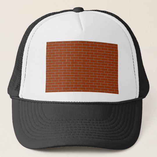 perfect brick wall trucker hat