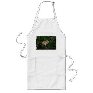Perfect Camoflage Butterfly Wings Long Apron