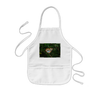 Perfect Camoflage Butterfly Wings Kids' Apron