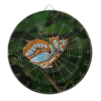 Perfect Camoflage Butterfly Wings Dartboard