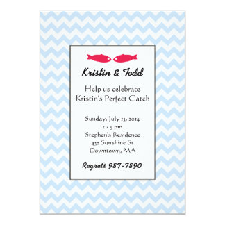 Perfect Catch Bridal Shower Invitations