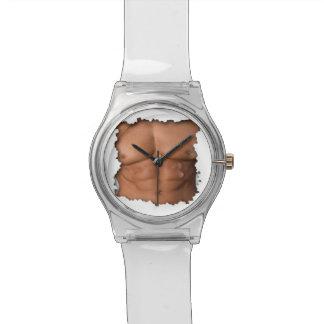 Perfect chest under a broken shell wrist watch. watches