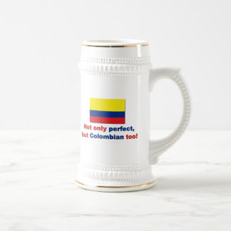 Perfect Colombian Beer Stein
