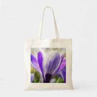 Perfect Crocus Flower Bloom Canvas Bag