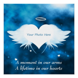 Perfect Custom Poster - Angel of the Heart