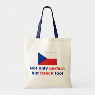Perfect Czech Budget Tote Bag