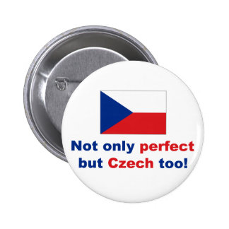Perfect Czech 2 Inch Round Button