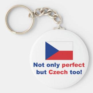 Perfect Czech Keychain