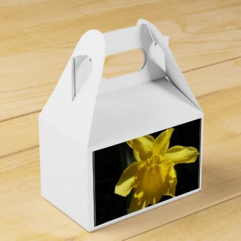 Perfect Daffodil Favor Box by PerennialGardens at Zazzle