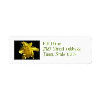 Perfect Daffodil Label