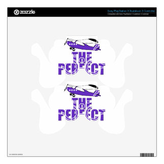 perfect day airplane PS3 controller skins