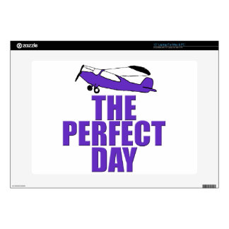 perfect day airplane skin for laptop