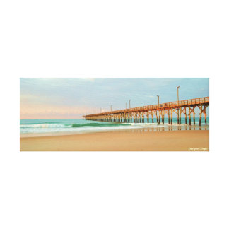 Perfect Day On Topsail Island Canvas Print