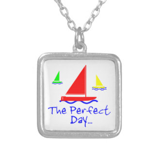 Perfect Day Sail Boat Necklaces