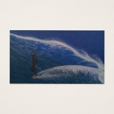 Professional Business Perfect day surfing business card