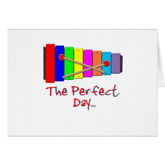Perfect Day Xylophone Card